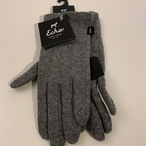 Echo Design Classic Touch Gloves   Water Repellent